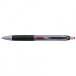 Uni-Ball Signo 207 0.7mm Retractable Red Rollerball Pen - 12 Pack