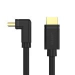 Unitek 2m 4K 60Hz High Speed HDMI 2.0 Right Angle 270° Cable