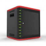 Unitek 10 Bay Tablet Charge & Sync Cabinet