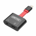 Unitek Lightning to 3.5mm Audio & Charge Adapter