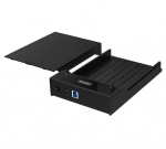 Unitek Lay-Flat 3.5/2.5 Inch SATA USB 3.0 HDD External Enclosure - Black