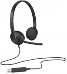 Logitech H340 USB Headset - Over Head Design