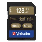 Verbatim Pro Plus 128GB Class 10 UHS-3 V30 SDXC Memory Card