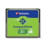Verbatim 2GB Compact Flash Card