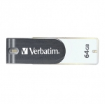 Verbatim Store 'n' Go 64GB USB 2.0 Swivel Flash Drive - Grey