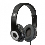 Verbatim Classic Over-Ear Stereo Headphones - Black