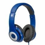 Verbatim Classic Over-Ear Stereo Headphones - Blue