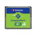 Verbatim 4GB Compact Flash Card