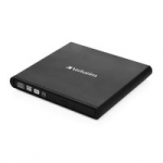 Verbatim External Slimline USB 2.0 CD DVD Writer