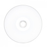 Verbatim CD-R 52X 700MB White Inkjet Hub Printable CD Discs - 100 Pack