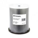 Verbatim CD-R 700MB 100 Pack White Wide InkJet 52x