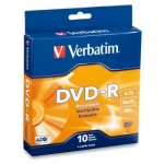 Verbatim DVD-R 16x 4.7GB Spindle - 10 Pack
