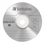 Verbatim DVD+R DL 8.5GB 10 Pack Spindle 8x