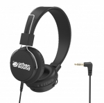 Verbatim Urban Sound Lightweight Child Friendly Over Ear 3.5mm Wired Headset - Black