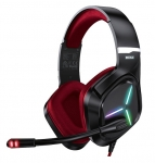 Vertux Blitz 7.1 Surround Sound Over Ear Gaming Headphone - Red