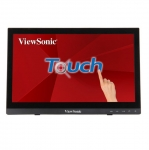 ViewSonic TD1630 15.6 Inch 1366 x 768 12ms 190nit Portable Touchscreen Monitor - HDMI VGA