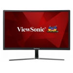 Viewsonic VX2458-C 23.6 Inch 1920x1080 1ms 280nit VA Curved Monitor with Speakers - DisplayPort HDMI DVI
