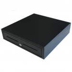 VPOS Cash Drawer EC410 4 Note 8 Coin 24V - Black