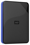 Western Digital Gaming Drive 2TB USB 3.1 Portable External Hard Drive for Playstation 4 - Black