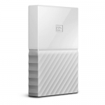 Western Digital My Passport Ultra 1TB USB3.0 Portable Hard Drive - White