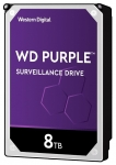 Western Digital Purple 8TB 7200rpm 256MB Cache 3.5 Inch SATA3 Surveillance Hard Drive