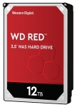 Western Digital Red 12TB 5400rpm 256MB Cache 3.5 Inch SATA3 NAS Hard Drive