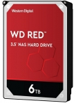 Western Digital Red 6TB 5400rpm 256MB Cache 3.5 Inch SATA3 NAS Hard Drive