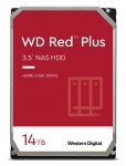 Western Digital Red Plus 14TB 5400rpm 512MB Cache 3.5 Inch SATA NAS Hard Drive