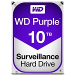 Western Digital Purple 10TB 5400rpm 256MB Cache 3.5 Inch SATA3 Surveillance Hard Drive
