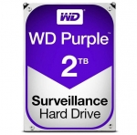 Western Digital Purple 2TB 5400rpm 64MB Cache 3.5 Inch SATA3 Surveillance Hard Drive