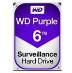 Western Digital Purple 6TB 5400rpm 64MB Cache 3.5 Inch SATA3 Surveillance Hard Drive