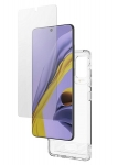 Zagg Gear4 D3O Wembley Samsung Galaxy A51 Invisible Glass with Case Bundle