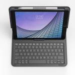 Zagg Messenger Folio 2 Tablet Keyboard and Case for 10.2inch iPad, 10.5inch iPad/Air 3