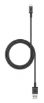 Mophie 1m USB Type-A to Micro USB Braided Charge & Sync Cable - Black