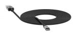 Mophie 3m USB-C to USB Type-A Braided Charge & Sync Cable - Black