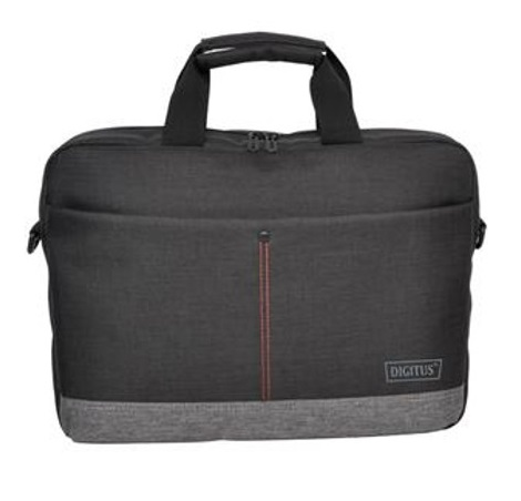 Digitus Notebook Briefcase Bag with Carrying Strap for 15.6 Inch Laptops - Graphite