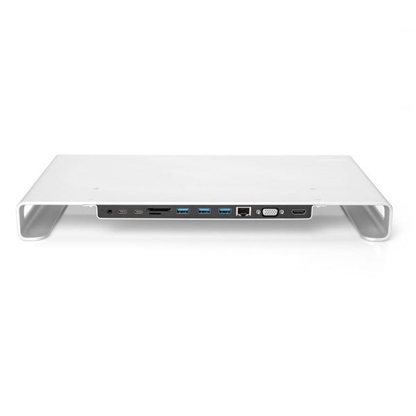 Digitus USB-C 11-in-1 Docking Station with Aluminium Monitor Stand