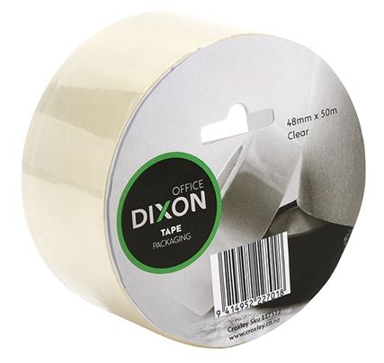 Dixon Clear Packaging Tape 48mm X 50m