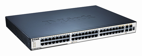 Dlink 48-Port 10/100/1000Mbps & 4-Port Combo SFP L2 Stackable Managed Switch