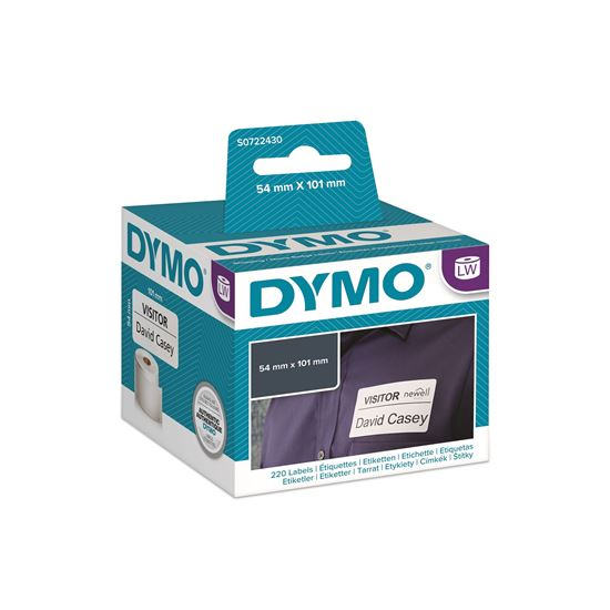 DYMO LW 54mm x 101mm Black on White Shipping Label Roll