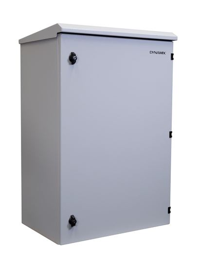 Dynamix 18RU 600mm Deep Outdoor Wall Mount Server Cabinet
