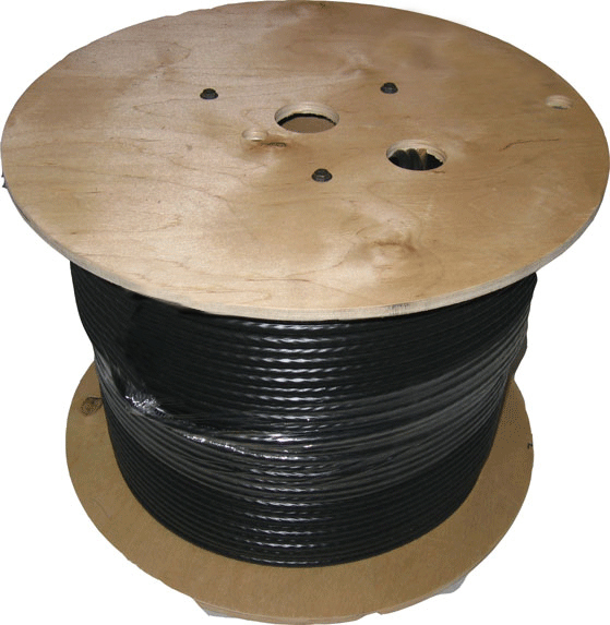 Dynamix 2Km OS1 6C indoor/Outdoor Tight Buffered Cable Roll. 9/125 900um Singlemode Fibre