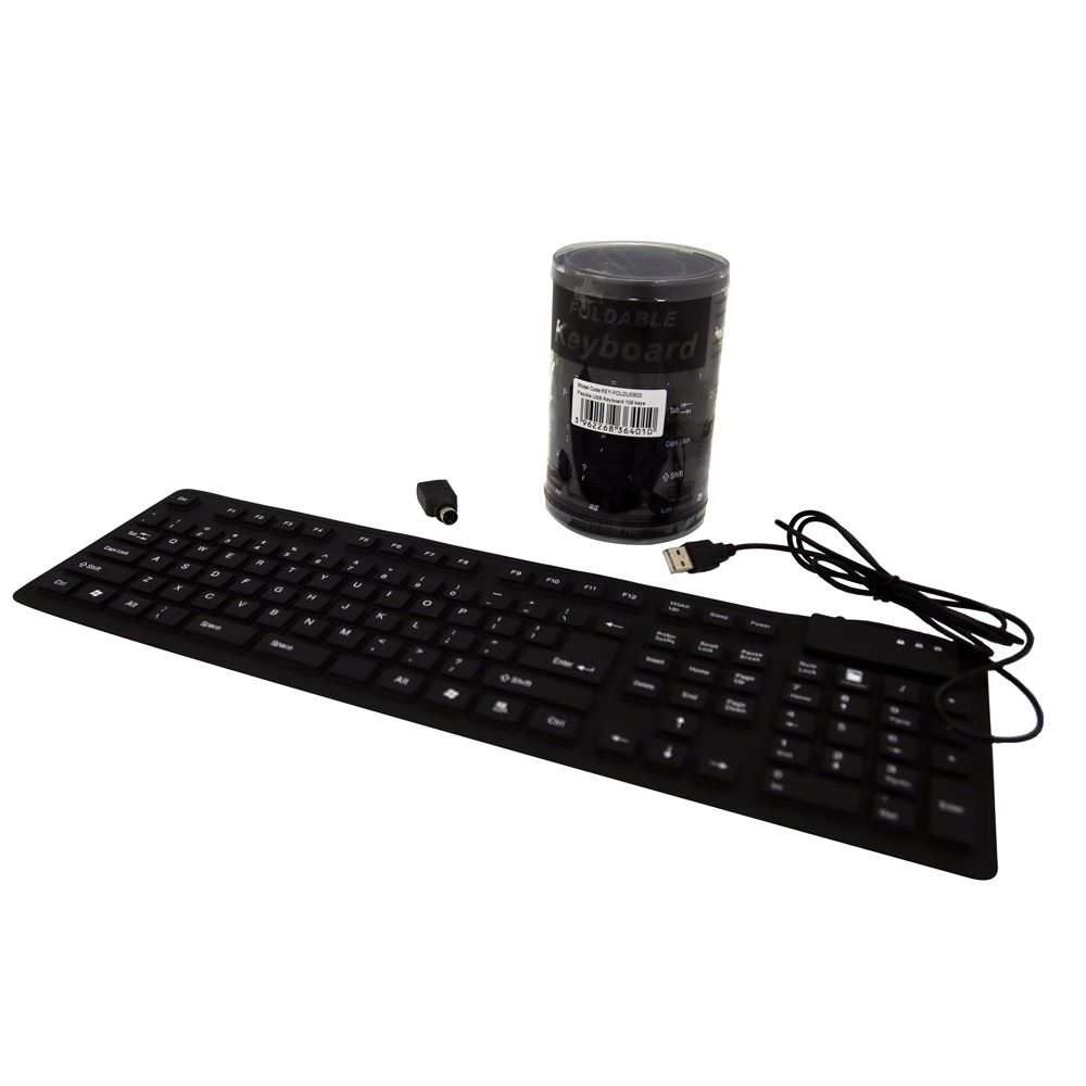Dynamix Flexible Waterproof USB Keyboard