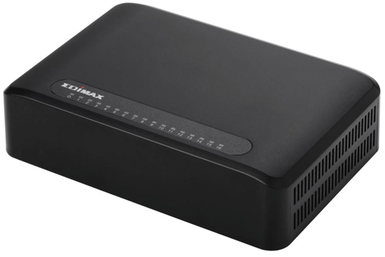 Edimax 16 Port 10/100 UTP Switch Fast Ethernet , Desktop Model