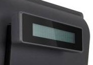 Element 2X20 Integrated Customer Display for 485 POS Terminal - Black