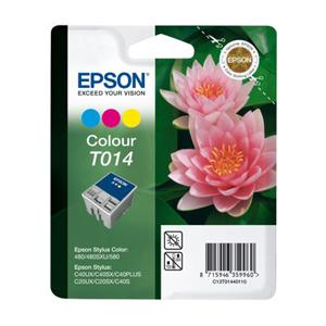 Epson T014 Colour Ink Cartridge
