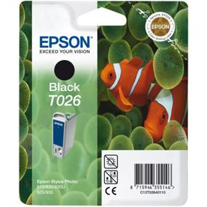 Epson T026 Black Ink Cartridge