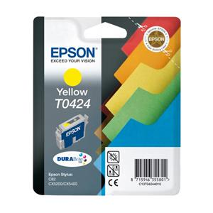 Epson T0424 Yellow Ink Cartridge