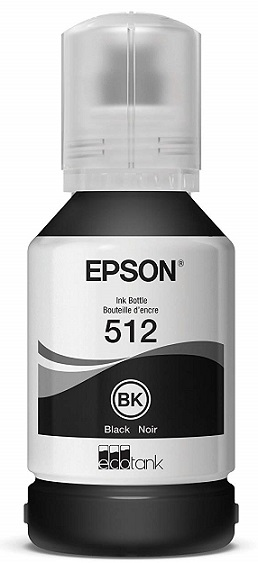 Epson T512 Black Ink Bottle