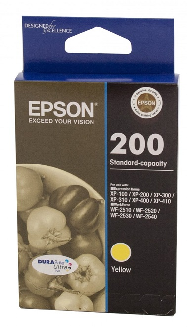 Epson C13T200492 200 Standard Capacity DURABrite Ultra Yellow Ink Cartridge